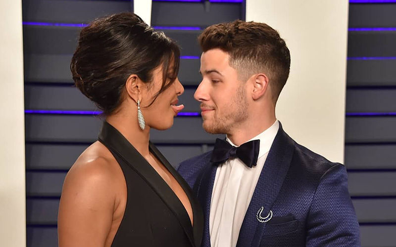 Priyanka Chopra Teases Nick Jonas At Vanity Fair Party 2019. Click To See More Pictures