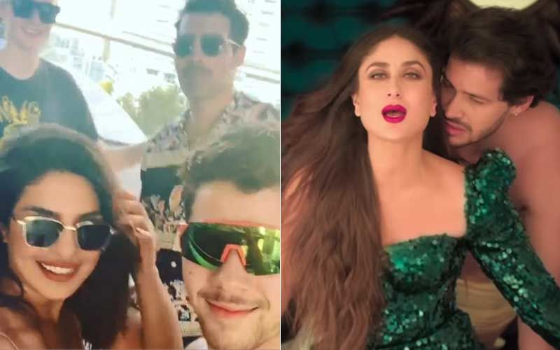 Priyanka Chopra And Jonas Family Sway Like A Pro On Kareena Kapoor's Tareefan- Watch Video