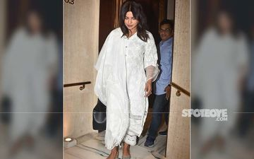 Priyanka Chopra Visits Manish Malhotra To Offer Her Condolences