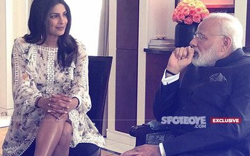 How Was Priyanka Chopra Inappropriately Dressed When She Met PM Modi With Her Neck & Knees Covered?