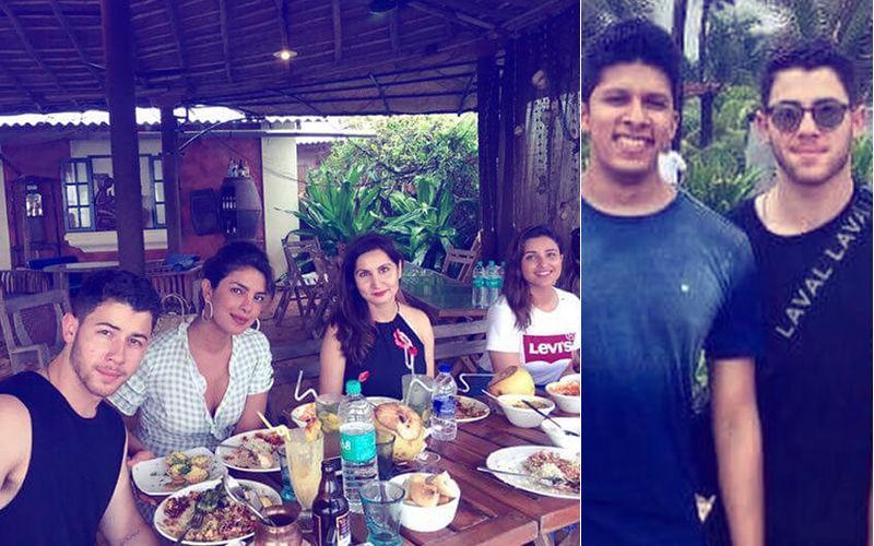 Pics: Priyanka Chopra & Nick Jonas' Beach Fun With Actress' Family