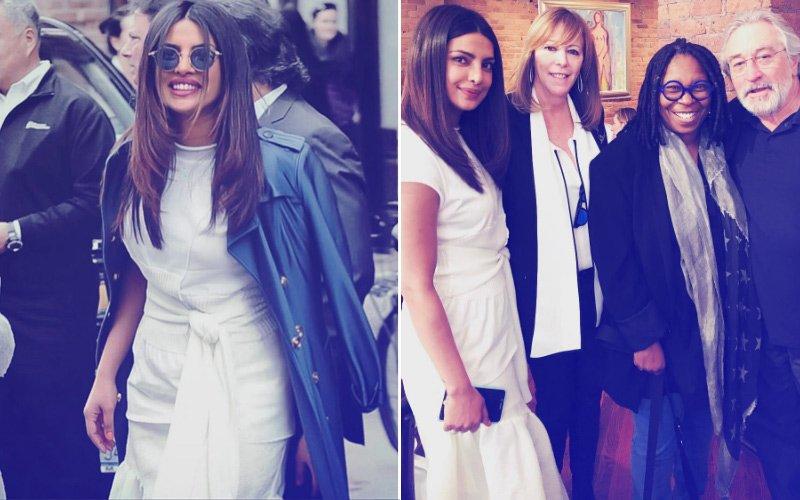 FAB FRIDAY: Priyanka Chopra Poses With Robert De Niro At Tribeca Film Festival