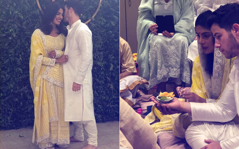 Priyanka Chopra-Nick Jonas Engagement: First Pictures Of The Couple From The Puja