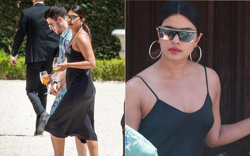 Priyanka Chopra Wears A Rs 2700 Dress In Paris, Accessorizes It With Shades And Shoes That Cost An Arm And A Leg