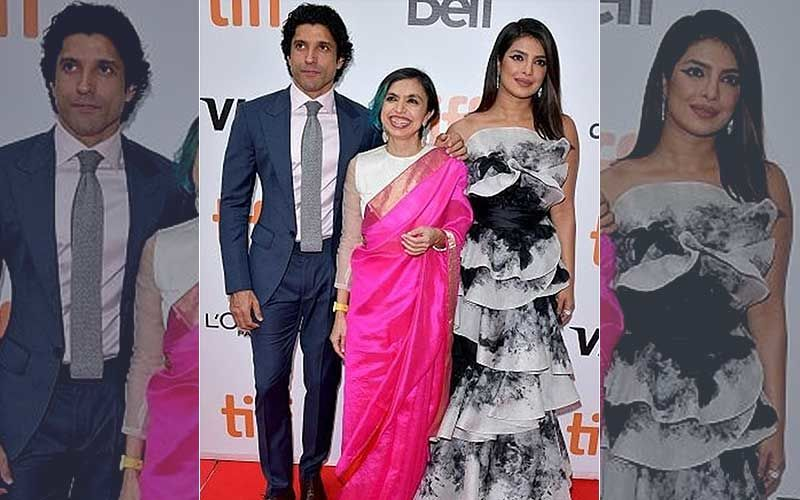 The Sky Is Pink: Priyanka Chopra Leads At The Red Carpet Of TIFF 2019 Along With Farhan Akhtar, Shonali Bose