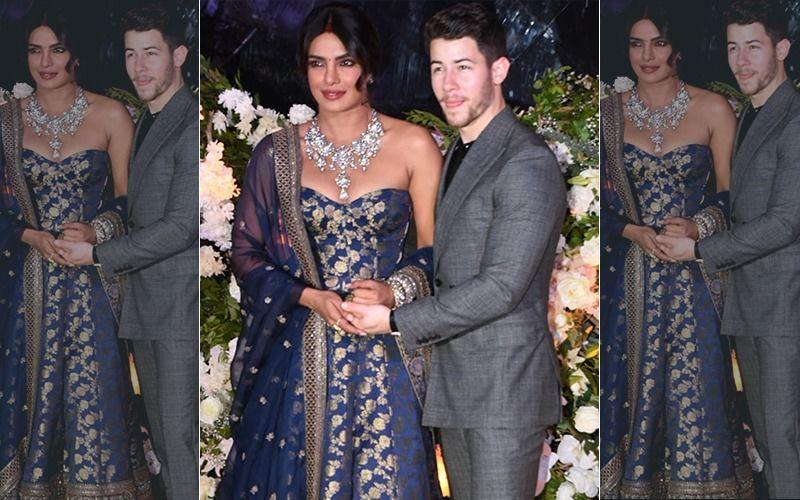 Priyanka Chopra-Nick Jonas Reception: बेहद ही खूबसूरत लग रहा है ये जोड़ा, पहली तस्वीर आई सामने