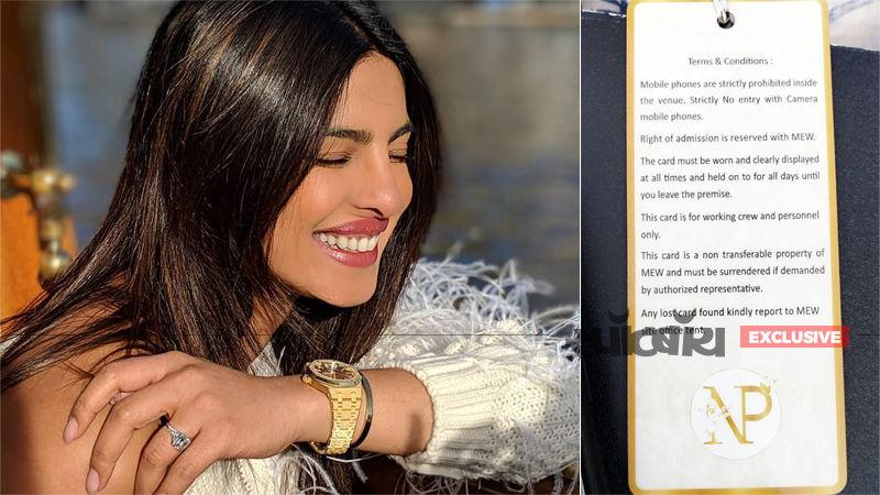 Exclusive: प्रियंका चोपड़ा और निक जोनस की शादी में वेडिंग स्टाफ को फॉलो करने पड़ेंगे ये नियम