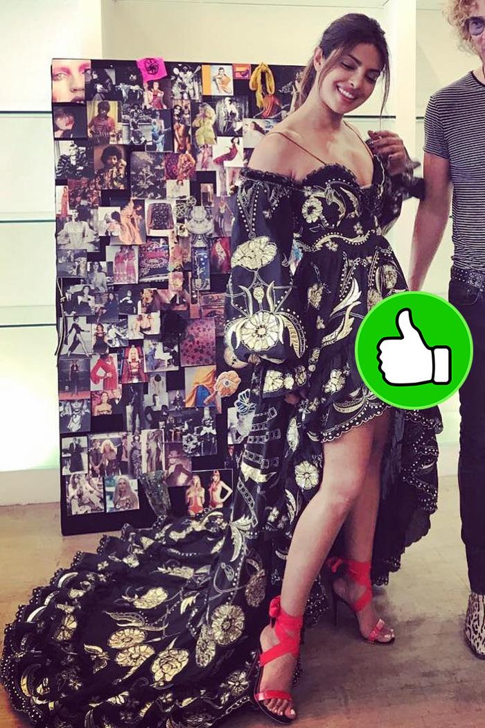 priyanka shopra keeps it stylish in paris