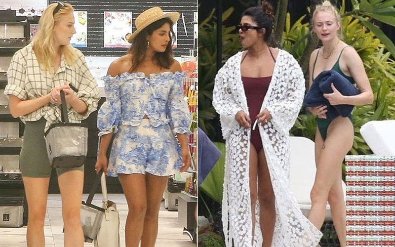 J-Sisters Priyanka Chopra And Sophie Turner Go On A Shopping Spree After Poolside Bikini Party