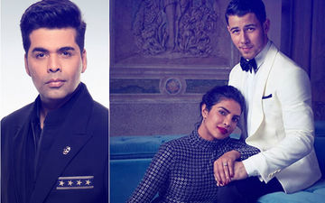 Karan Johar Takes A Strong Stand On Priyanka Chopra And Nick Jonas' Age Difference