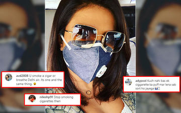 Priyanka Chopra Receives 'Didi Sutta Kam Piya Karo' Comment For Her Mask Photo Against Delhi Air Pollution