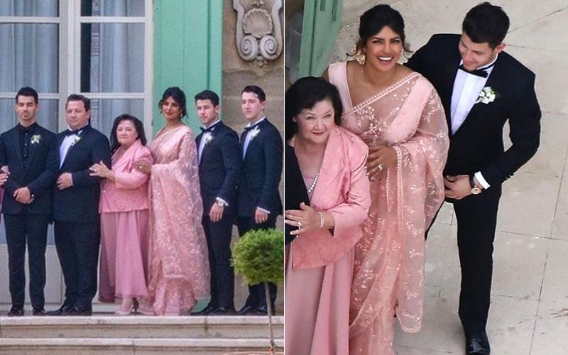 जो जोनस और सोफी टर्नर की शादी में देसी लुक में पहुंची प्रियंका चोपड़ा, सोशल मीडिया पर तस्वीर हुई वायरल