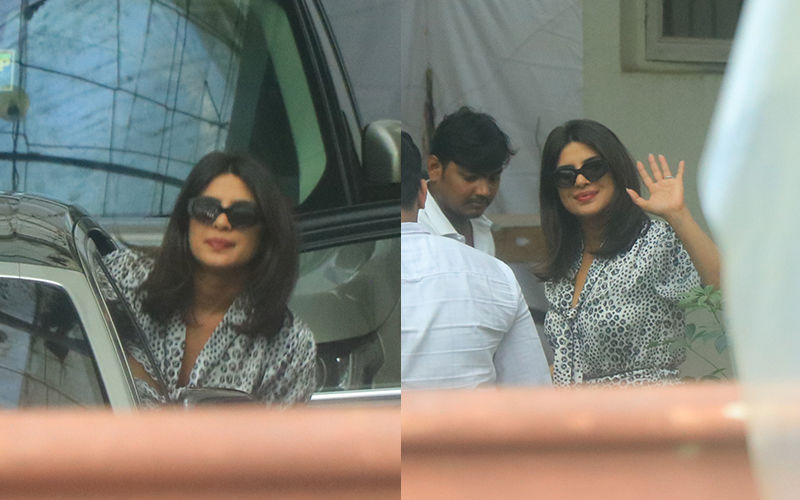 Priyanka Chopra Is All Smiles As She Exits A Dubbing Studio In Mumbai, Pictures Inside