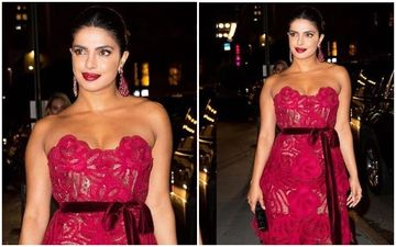 Priyanka Chopra Jonas' Piping Hot Appearance At The Vanity Fair Best Dressed Party