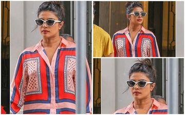 FASHION CULPRIT OF THE DAY: Priyanka Chopra Jonas, Your Scotch And Soda Pjs Are Unfortunately Not Giving Any High!