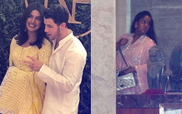 प्रियंका चोपड़ा – निक जोनास सगाई: विवादों के बीच अपनी सहेली के घर पहुंची सलमान खान की बहन अर्पिता