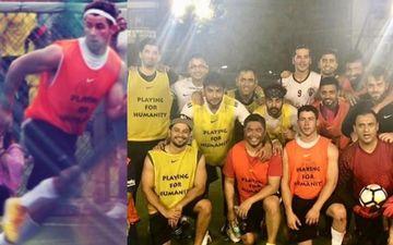 भारत की धरती पर महेंद्र सिंह धोनी के साथ निक जोनास ने खेला फूटबॉल, प्रियंका चोपड़ा ने किया जमकर चीयर