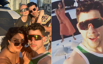 Priyanka Chopra-Nick Jonas Go Crazy On A Miami Cruise: Groove To Sucker And Ranveer Singh's Simmba Track