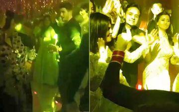 देखिये प्रियंका चोपड़ा-निक जोनस के रिसेप्शन के कुछ और वीडियो: एक्ट्रेस ने किया देसी गर्ल पर डांस तो मां मधु ने लगाये दामाद के साथ ठुमके