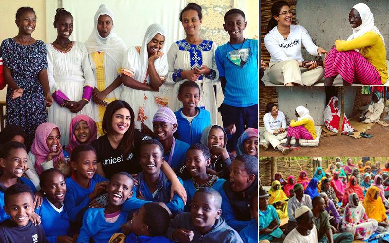 """On World Refugee Day, Priyanka Chopra Shares A Heartfelt Video; Says, """"Future Lies In Hands Of Children"""""""