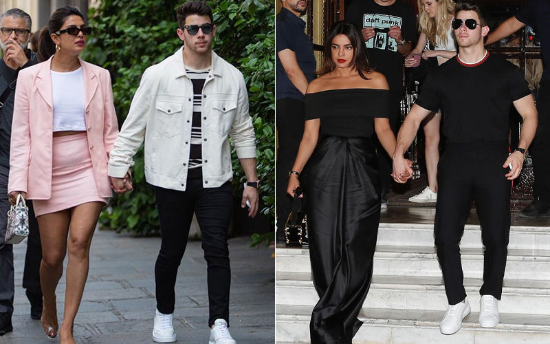 Priyanka Chopra And Nick Jonas Casually Stroll Down Parisian Streets In Haute Couture – No Big Deal!
