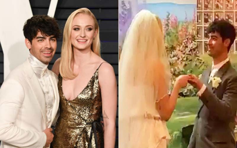 Surprise! GoT's Sansa Stark Aka Sophie Turner Weds Joe Jonas In Las Vegas