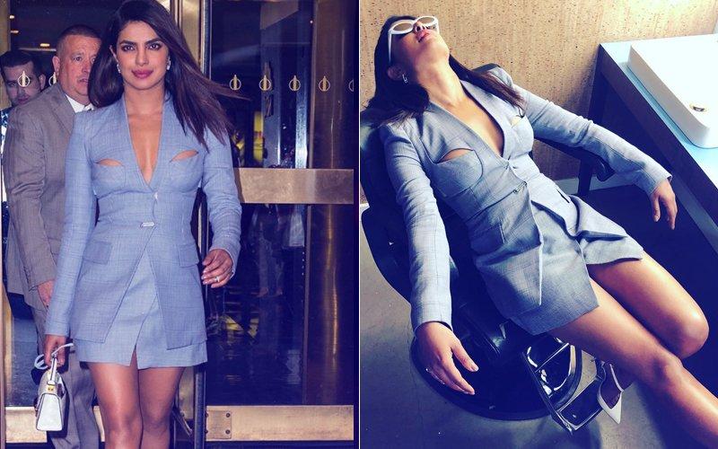 Internet Can't Stop Talking About Priyanka Chopra's Hot Blazer Dress
