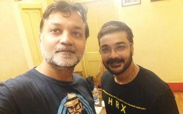 Prosenjit Chatterjee Is All Smile After Completing Dubbing Session For Srijit Mukherji's 'Gumnaami'