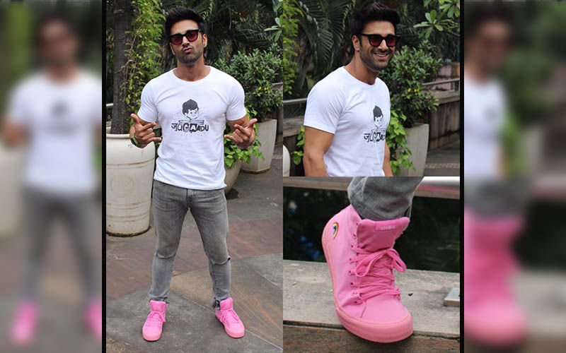 Pulkit Samrat Supports The LGBT Community; Wears 'Pretty Pink' Shoes To Work