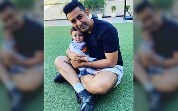 Gippy Grewal Makes His Youngest Son Gurbaaz Dance On His Latest Track 'Nach Nach'| Watch Video