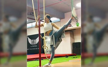 Watch| Sonam Bajwa's Home Workout Video With Furry Friend Is Loop-Worthy, Literally!