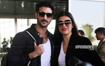 Love Out In The Open: Sushmita Sen Poses Happily With The New Man In Her Life, Rohman Shawl
