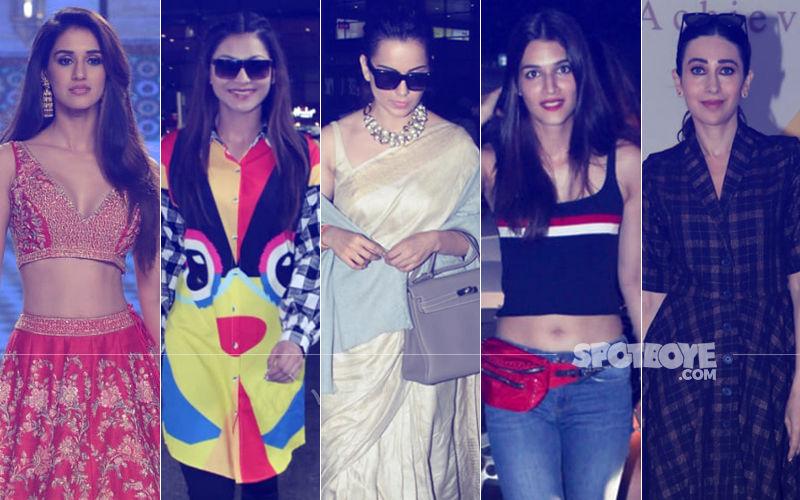 STUNNER OR BUMMER: Disha Patani, Urvashi Rautela, Kangana Ranaut, Kriti Sanon Or Karisma Kapoor?