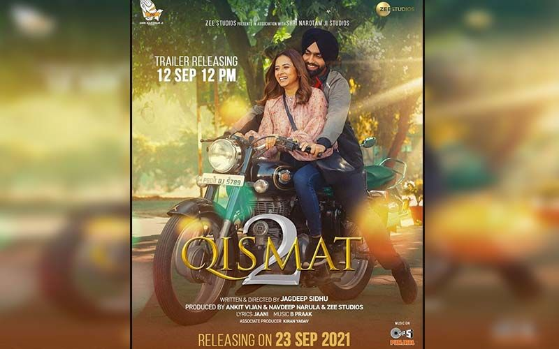 Qismat 2 Trailer: Ammy Virk And Sargun Mehta Promise To Churn Out Laughter, Emotions End Love