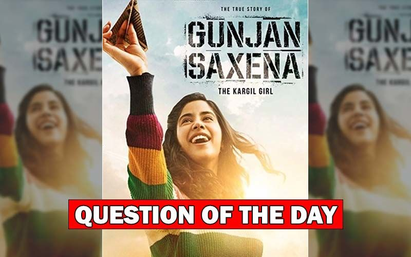 Did You Like Janhvi Kapoor's First Look From Gunjan Saxena: The Kargil Girl?
