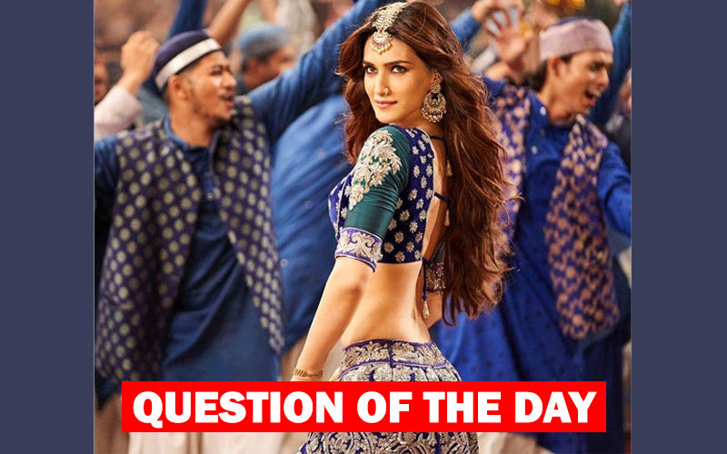 What Do You Think About Kriti Sanon's Song Aira Gaira In Kalank?