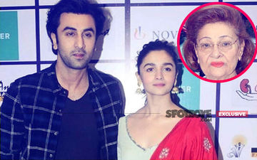 Alia Makes Ranbir Witness Dadi  Krishna Raj Kapoor's Final Journey Through A Video Call