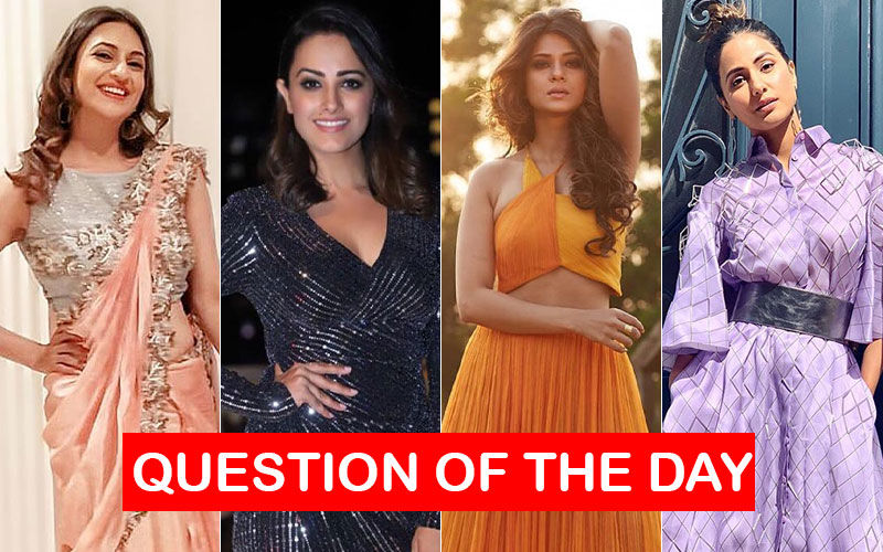 QUESTION OF THE DAY: Who Deserves To Be The Highest Paid Actress In Television, Today- Divyanka Tripathi, Anita Hassanandani, Jennifer Winget, Or Hina Khan?
