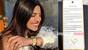Priyanka Chopra Spells Out Dos And Don'ts For Wedding Staff, Raises Privacy Bar!