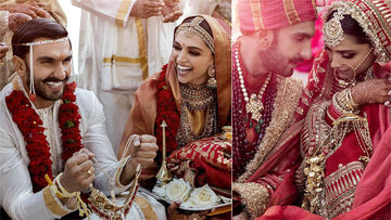 Deepika Padukone-Ranveer Singh's First OFFICIAL Pictures From Their Italy Wedding- Finally Out!