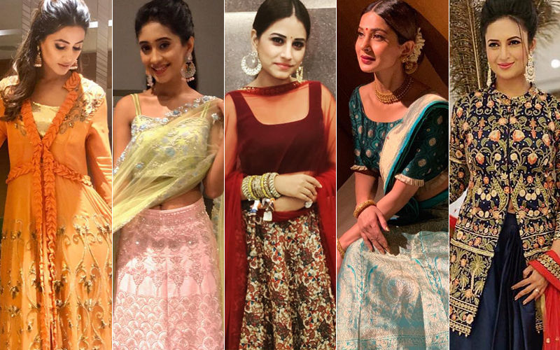 BEST DRESSED & WORST DRESSED TV Actresses During Navratri 2018: Hina Khan, Shivangi Joshi, Bhumika Gurung, Jennifer Winget Or Divyanka Tripathi?