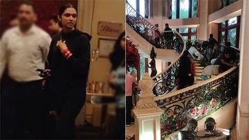 Deepika Padukone - Ranveer Singh Bengaluru Wedding Reception: Actress Reaches Venue To Check Decoration