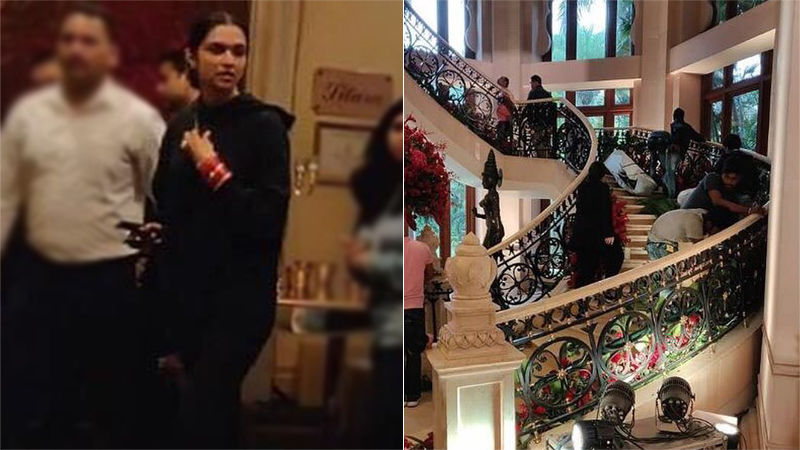 Deepika Padukone - Ranveer Singh Bengaluru Wedding Reception: Actress Reaches Venue To Check Decoration