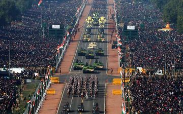 Republic Day 2020: First Glimpse Of Full Dress Rehearsal As Armed Forces Gear Up For The Parade