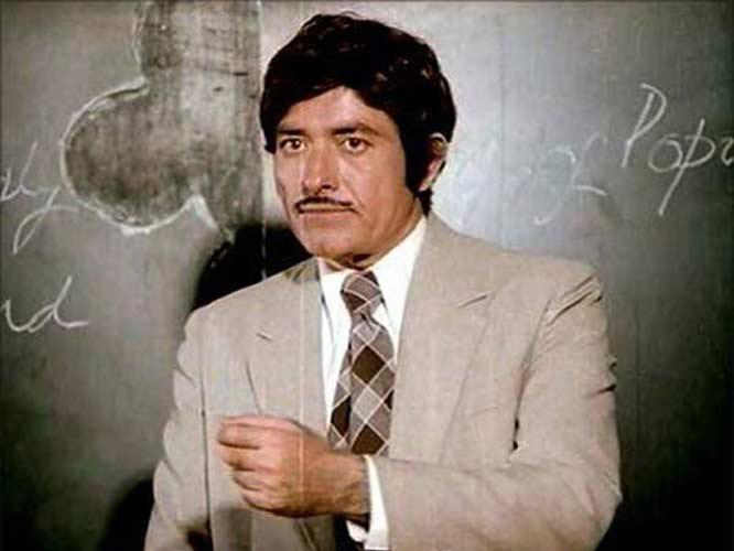 raaj kumar in his younger days