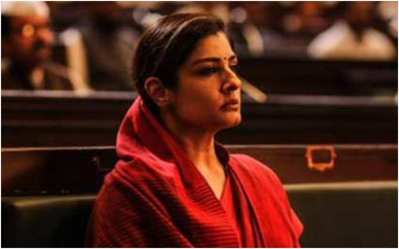 KGF Chapter 2: Ahead Of The Teaser Release Of This Yash, Sanjay Dutt Starrer, Makers Give A Peek Into Raveena Tandon's Powerful Glimpse