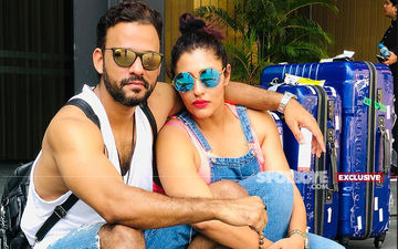 """Has Raaz 2 Music Director Sharib Sabri Married Arshad Warsi's Manager Aahutee Mistry? """"Nope, But We Are In Love,"""" Says The Couple"""