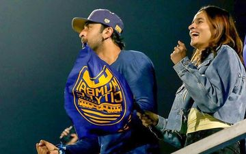 Alia Bhatt And Ranbir Kapoor Are The Biggest Cheerleaders At  Indian Super League As They Root For The Latter's Team