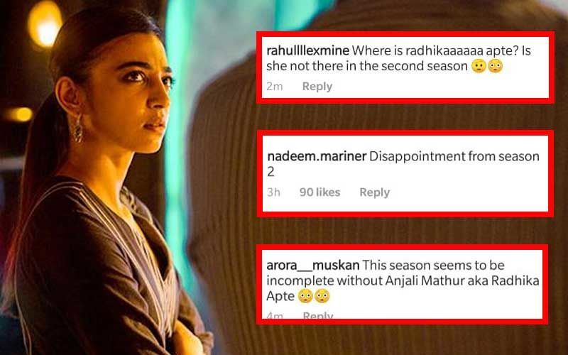 Sacred Games 2: Fans Disappointed Over Radhika Apte's Absence From The New Season