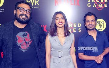 Promotions Are Sacred: Nawazuddin, Radhika & Anurag Reach Delhi To Talk About Their Netflix Series
